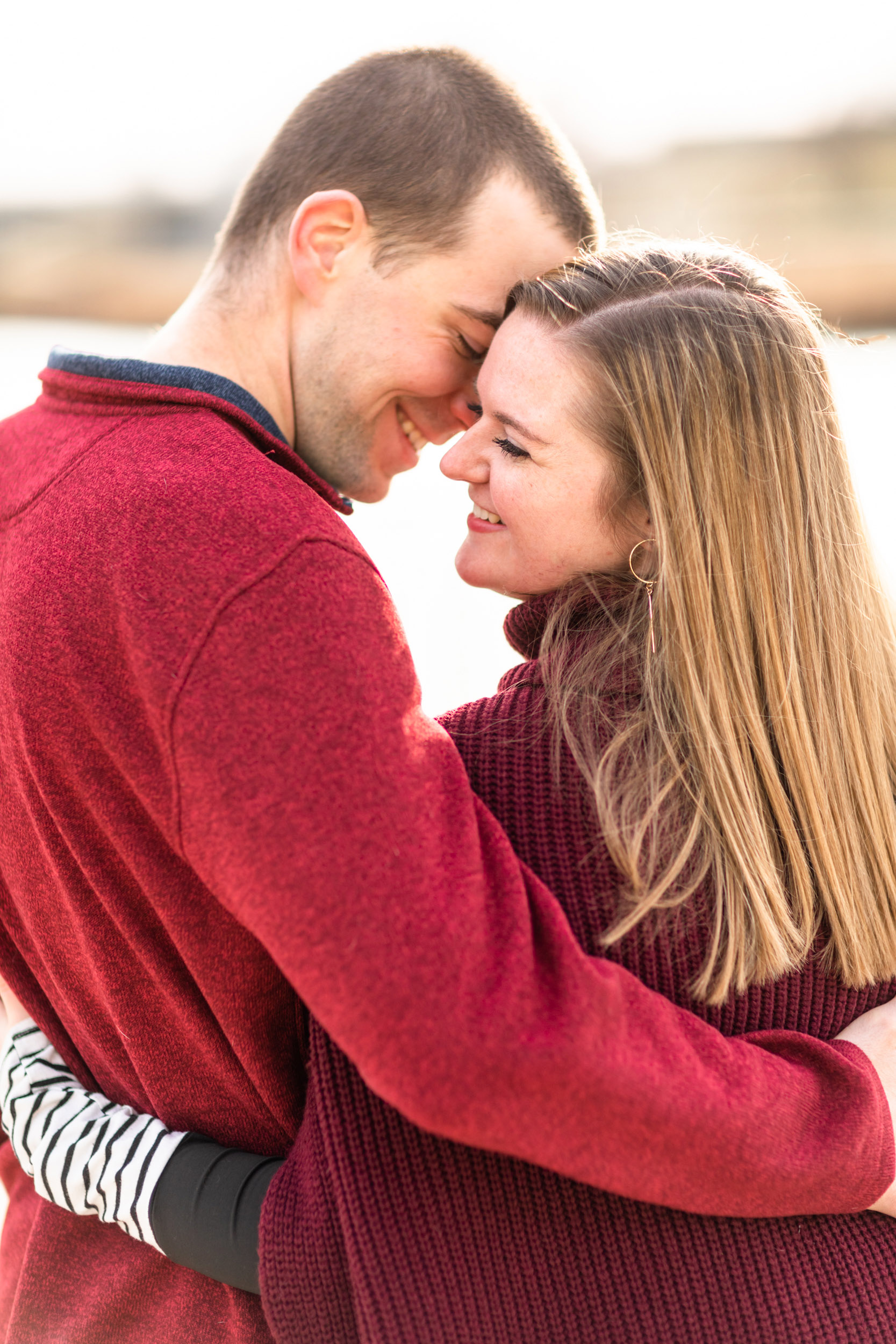 Lindsey and Ryan engagement session with Curtis Wallis Photography