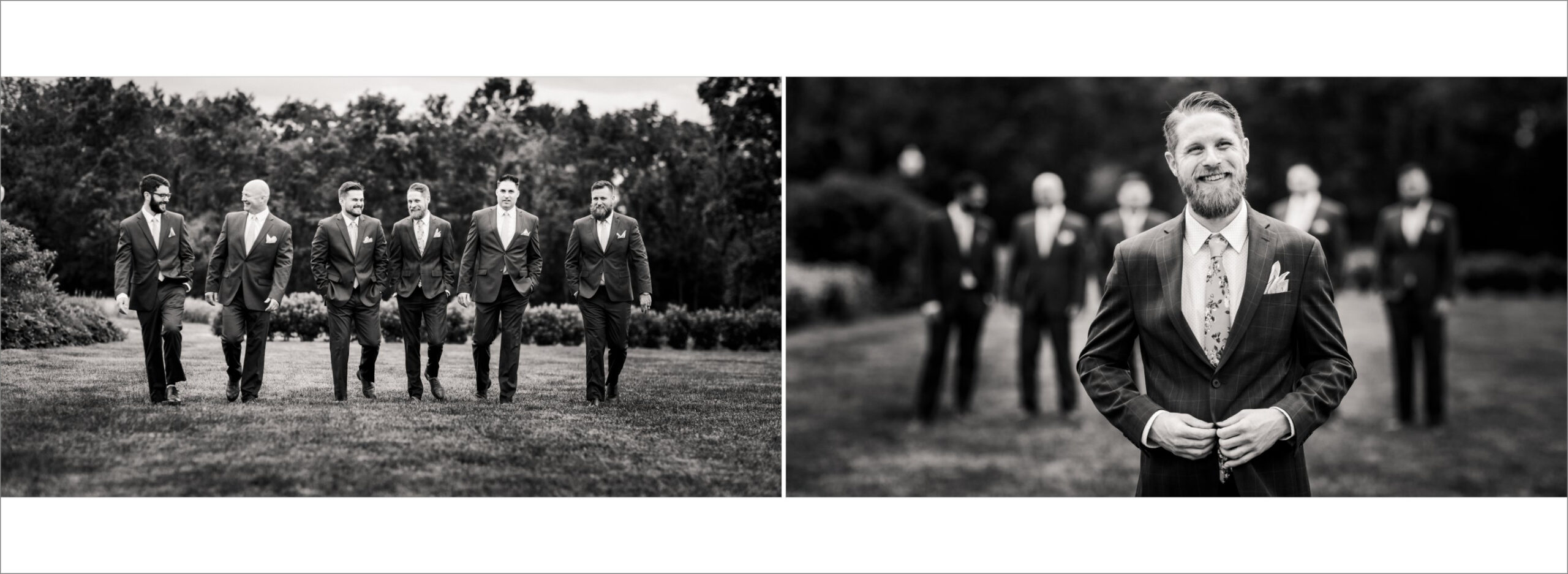 Groom photos in Black and White