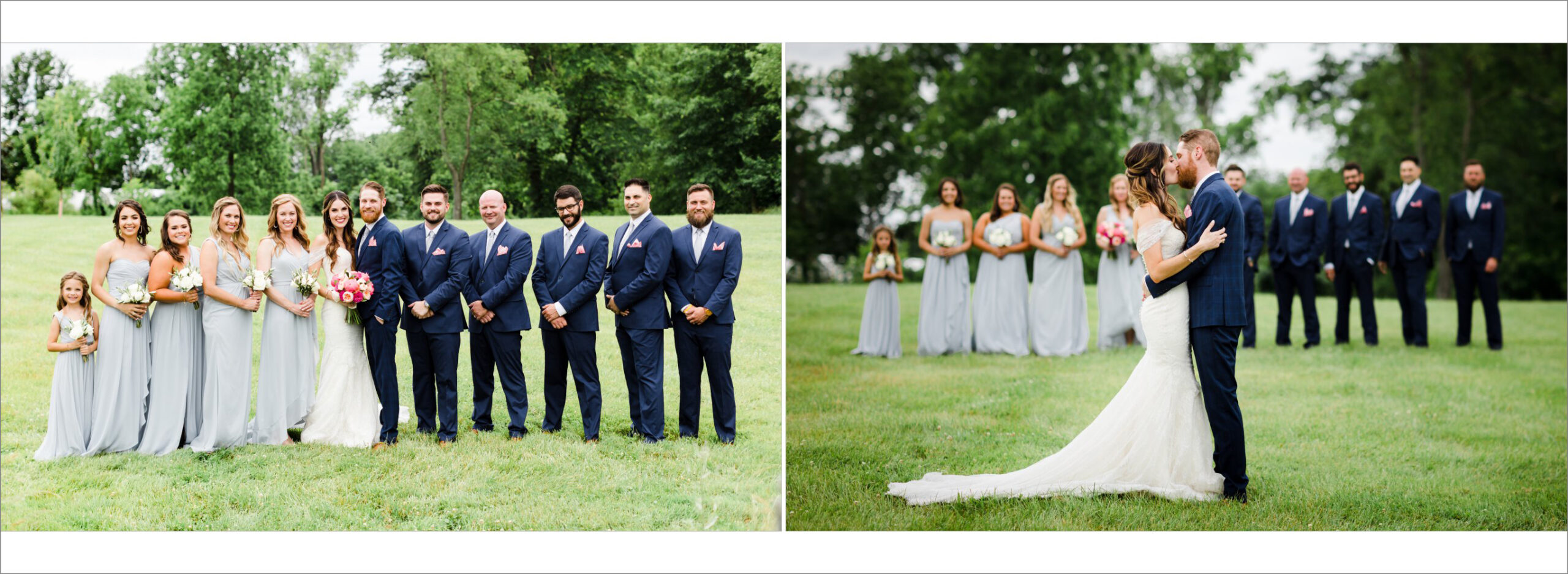 Full bridal party photos